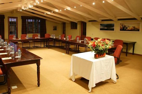 Conference venue at Critchley Hackle Lodge.