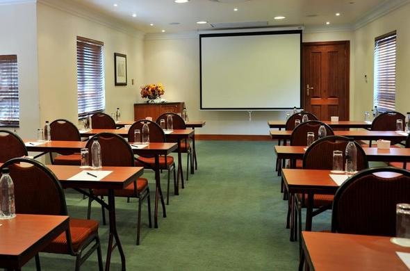 Conference facilities at Falstaff Hotel.