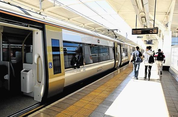 Hop on to the Gautrain.