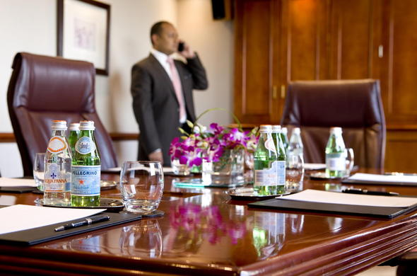 Boardroom at InterContinental Johannesburg Sandton Tower.