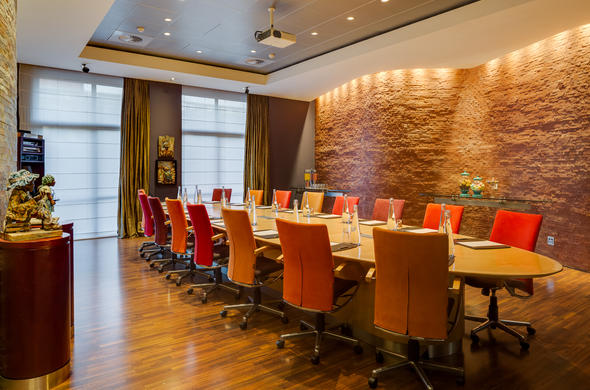 Trendy boardroom at the African Pride Melrose Arch