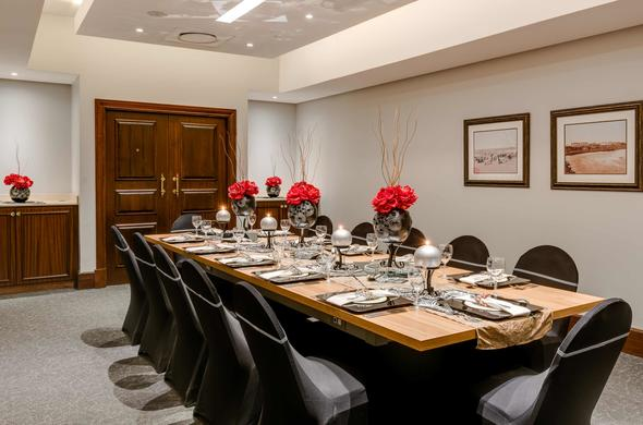 Private dining at Protea Hotel Edward.
