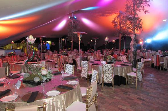 Event hosting at Protea Zebula Lodge.
