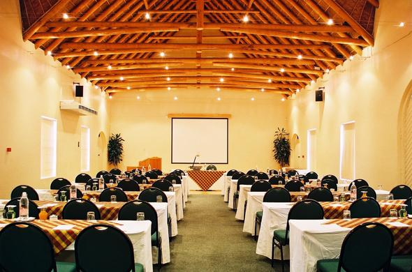 Fully equipped conference venue at Stellenbosch Lodge.
