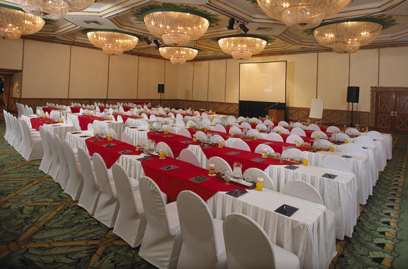 Conference venue at Soho Sun City Hotel.